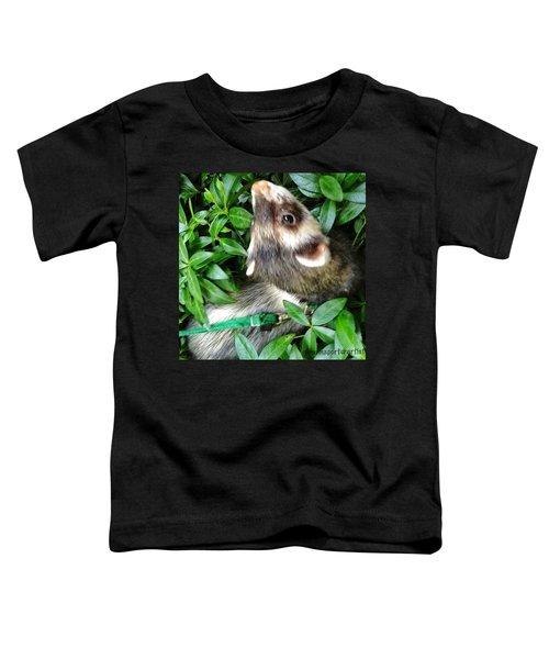 Nicky In The Garden Toddler T-Shirt