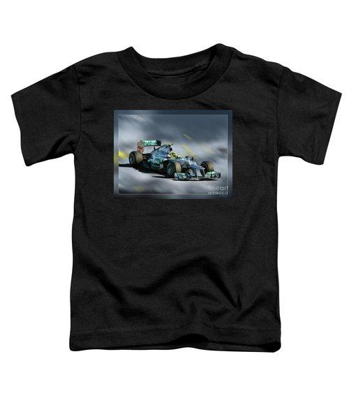 Nico Rosberg Mercedes Benz Toddler T-Shirt