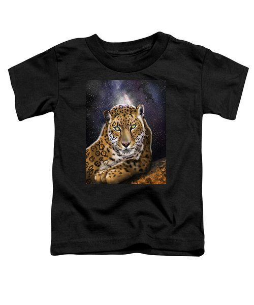 Fourth Of The Big Cat Series - Leopard Toddler T-Shirt