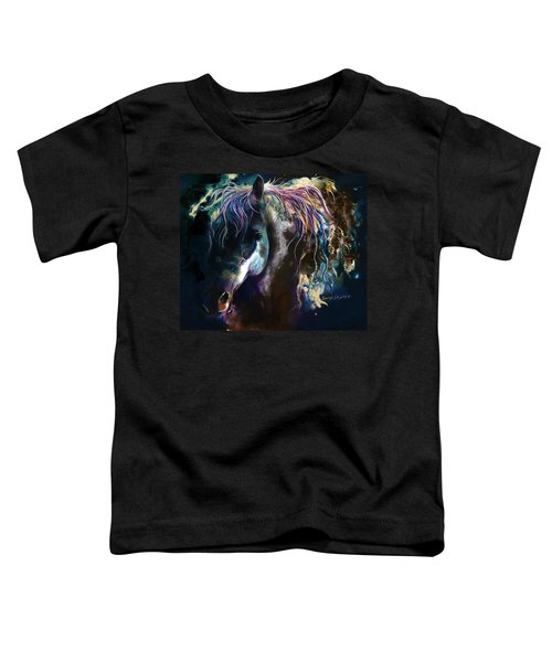 Night Stallion Toddler T-Shirt