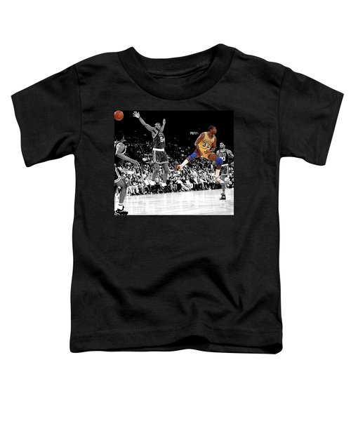 No Look Pass Toddler T-Shirt by Brian Reaves