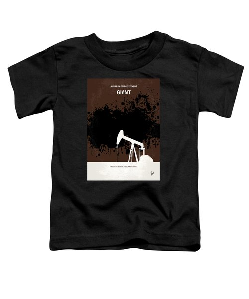 No102 My Giant Minimal Movie Poster Toddler T-Shirt