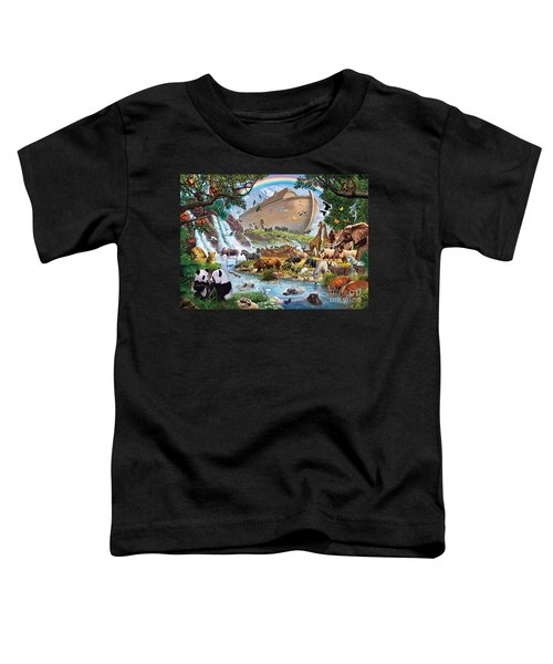 Noahs Ark - The Homecoming Toddler T-Shirt by Steve Crisp
