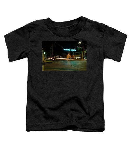 Normal Heights Neon Toddler T-Shirt