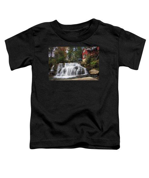 North Carolina Waterfall Toddler T-Shirt