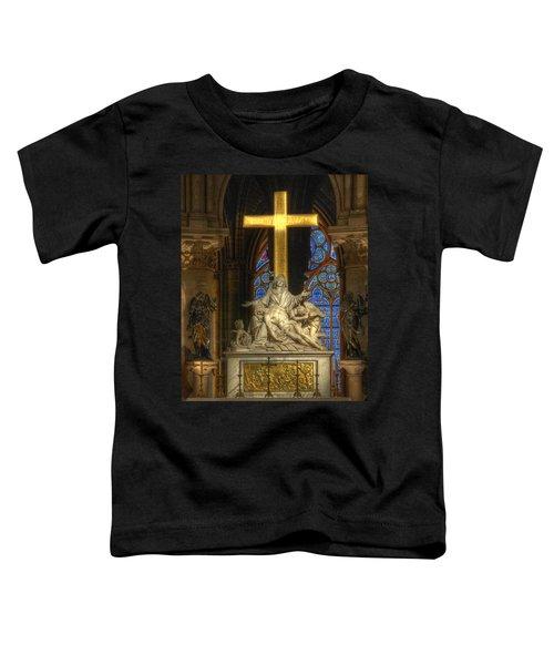 Notre Dame Pieta Toddler T-Shirt