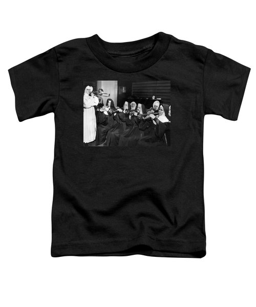 Nuns Rehearse For Concert Toddler T-Shirt
