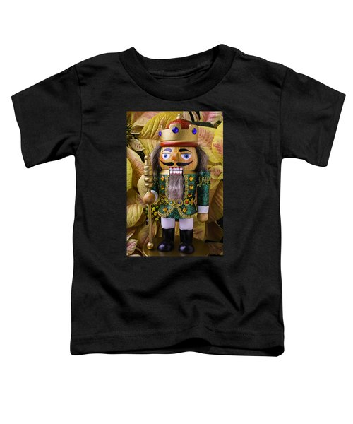 Nutcracker And Poinsettia Toddler T-Shirt