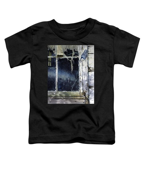 Nuthatch And Window Toddler T-Shirt