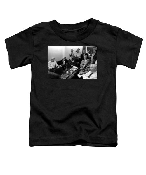 Obama In White House Situation Room Toddler T-Shirt