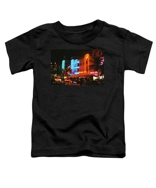 Ocean Drive Film Image Toddler T-Shirt