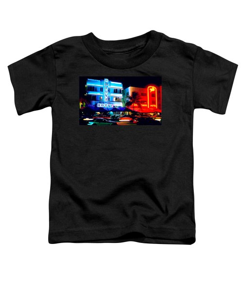 Ocean Drive Polaroid  Toddler T-Shirt