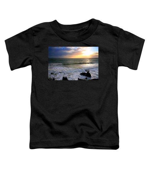 Ocean Sunset 84 Toddler T-Shirt