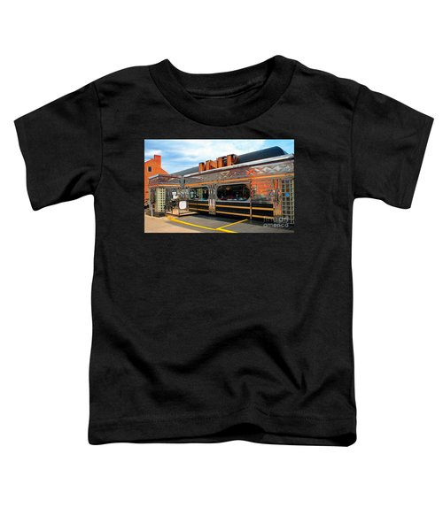 Ohio University Court Street Diner Toddler T-Shirt