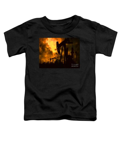 Oil Pumps Toddler T-Shirt