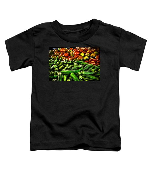 Okra And Tomatoes Toddler T-Shirt