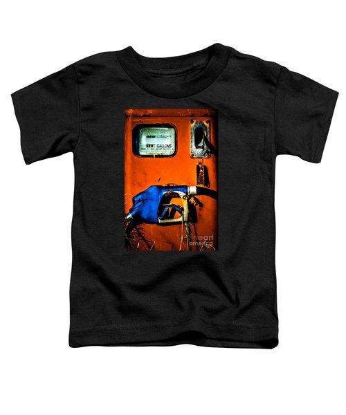 Old Farm Gas Pump Toddler T-Shirt
