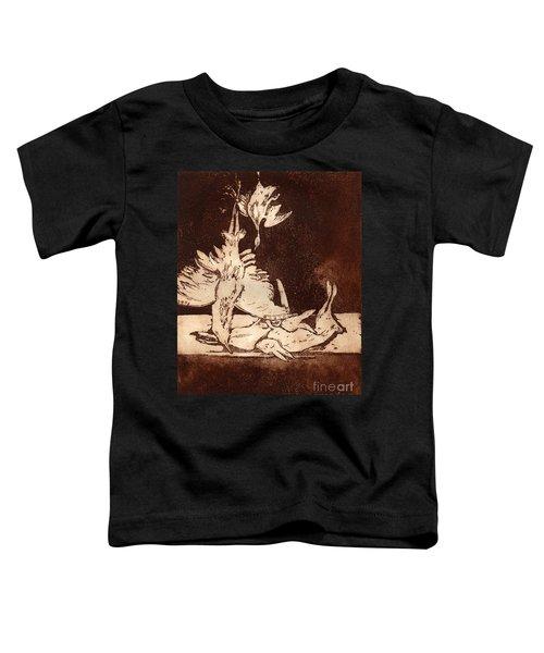Old Masters Still Life - With Great Bittern Duck Rabbit - Nature Morte - Natura Morta - Still Life Toddler T-Shirt