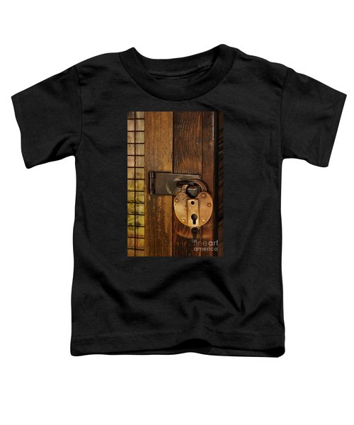 Old Padlock Toddler T-Shirt