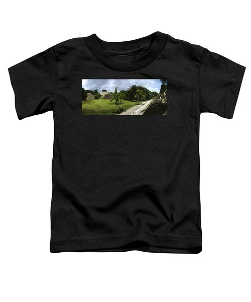 Old Ruins Of A Temple In A Forest Toddler T-Shirt
