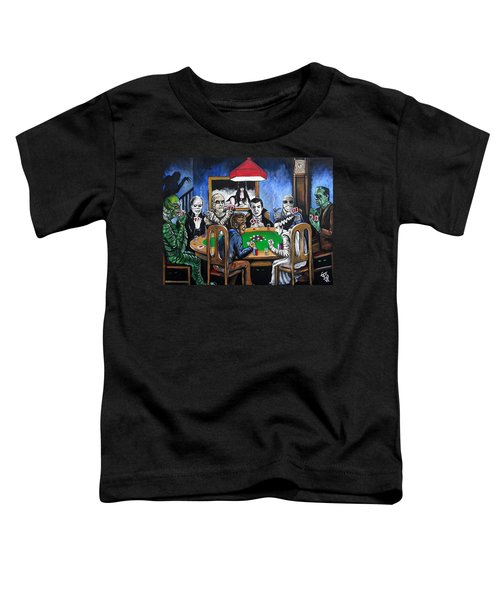Old School Horror Card Game Toddler T-Shirt