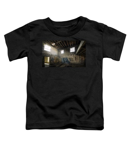 Old Warehouse Interior Toddler T-Shirt by Scott Norris