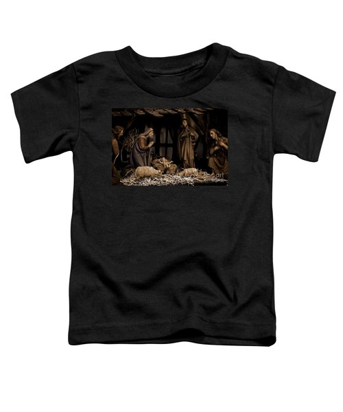 Olive Wood Nativity  Toddler T-Shirt