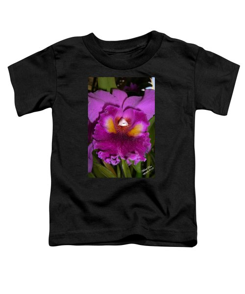 Orchid Flames Toddler T-Shirt