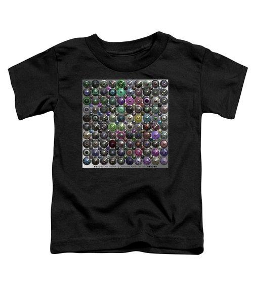 Ornamental Hubcaps Toddler T-Shirt