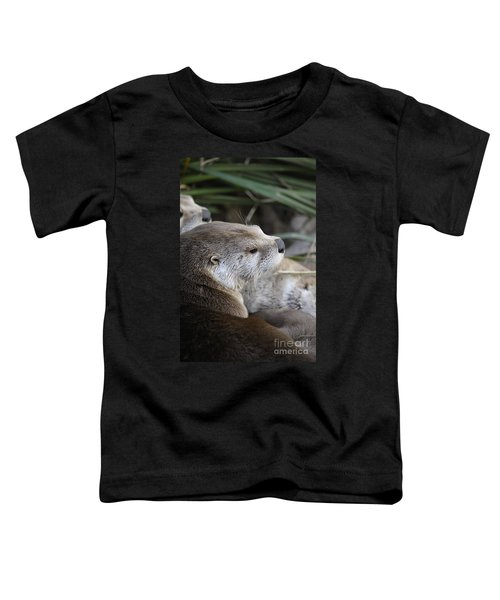 Otter And Family Toddler T-Shirt
