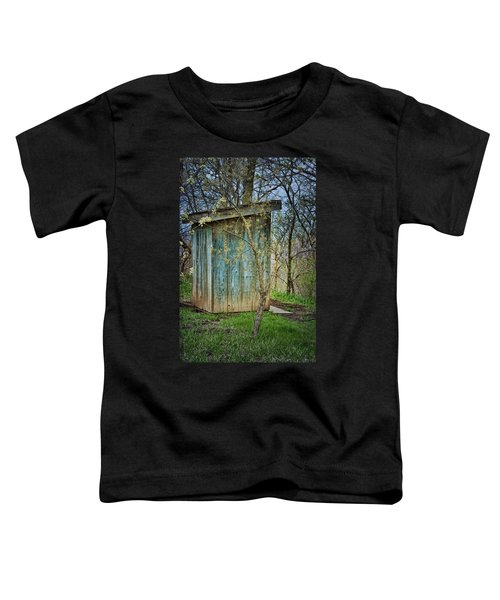Outhouse In Spring Toddler T-Shirt