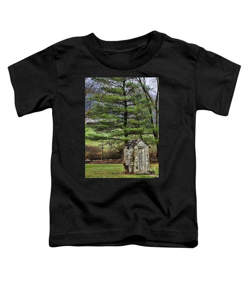 Outhouse In The Backyard Toddler T-Shirt