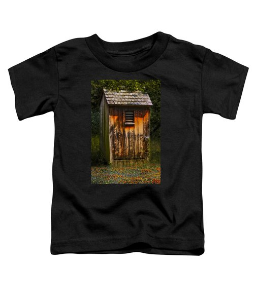 Outhouse Shack Toddler T-Shirt