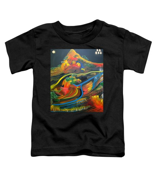 Painted Landscape Toddler T-Shirt