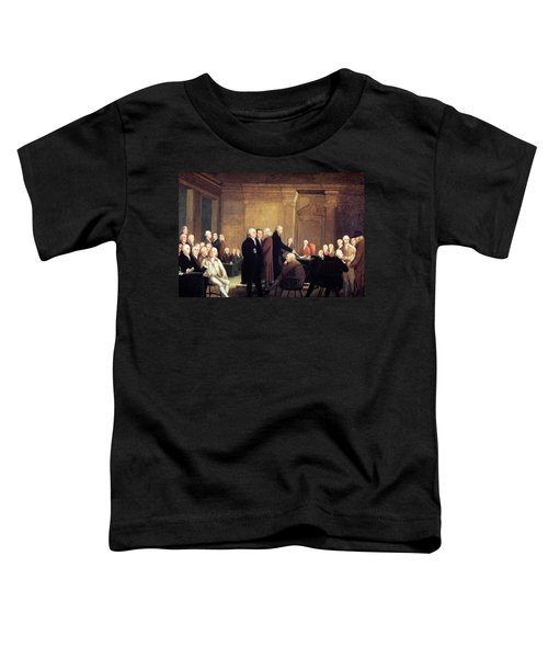 Painting Of First Continental Congress Toddler T-Shirt