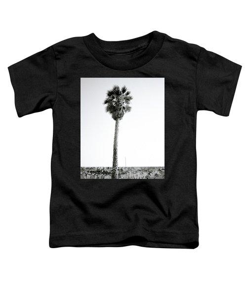 Palm Tree And Graffiti Toddler T-Shirt