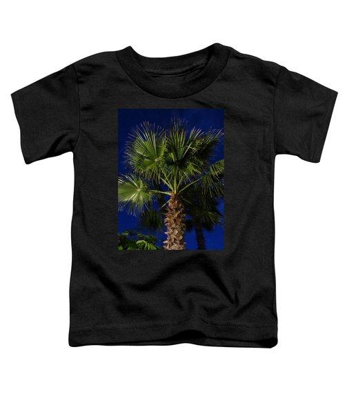 Palm Tree At Night Toddler T-Shirt