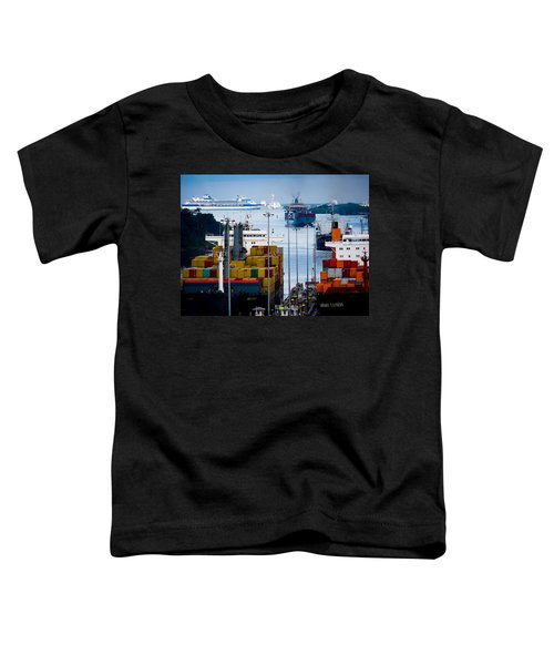 Panama Canal Express Toddler T-Shirt