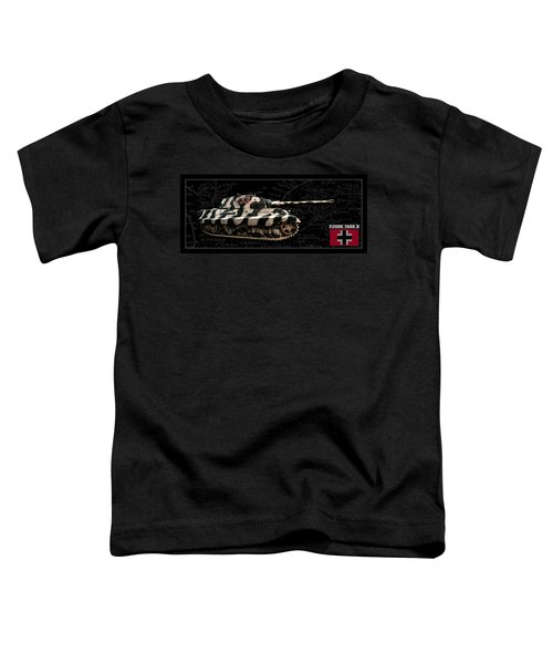 Panzer Tiger II Side Bk Bg Toddler T-Shirt