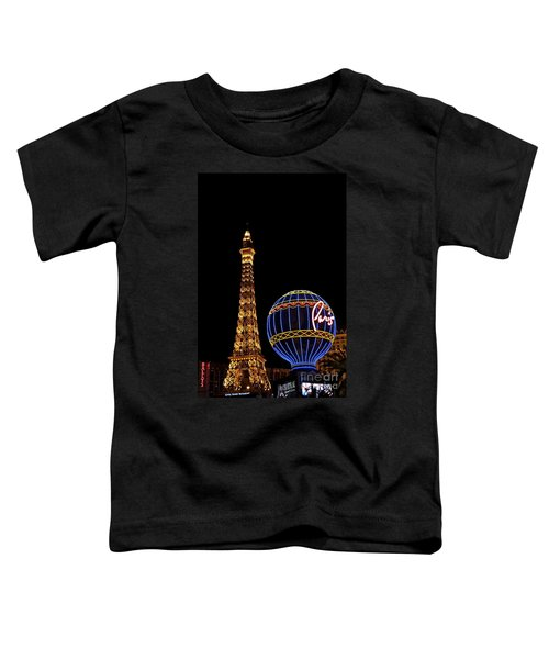 Paris In Vegas Toddler T-Shirt