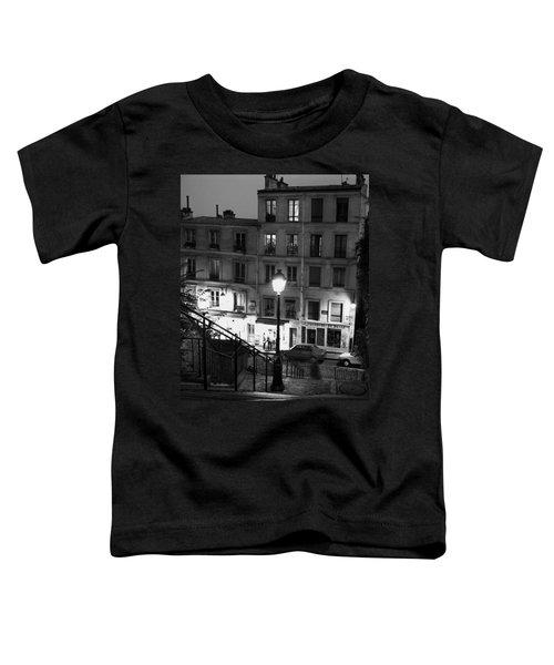 Paris-steps-montmartre Toddler T-Shirt