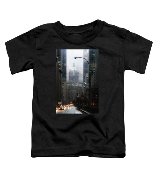 Park Avenue Dawn In Color Toddler T-Shirt