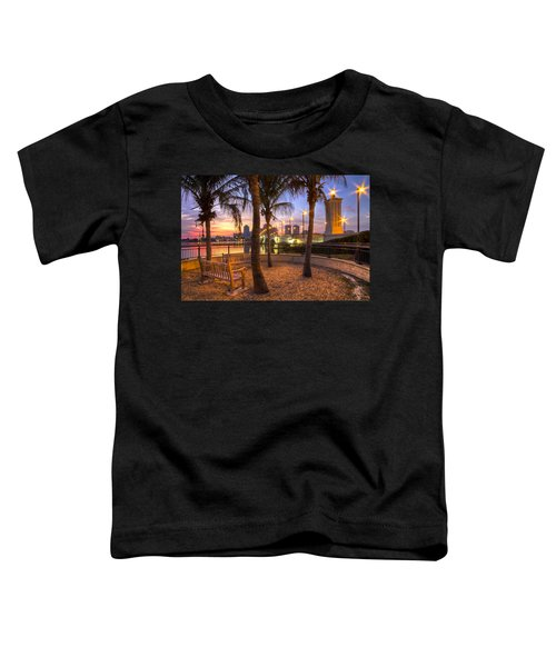 Park On The West Palm Beach Wateway Toddler T-Shirt