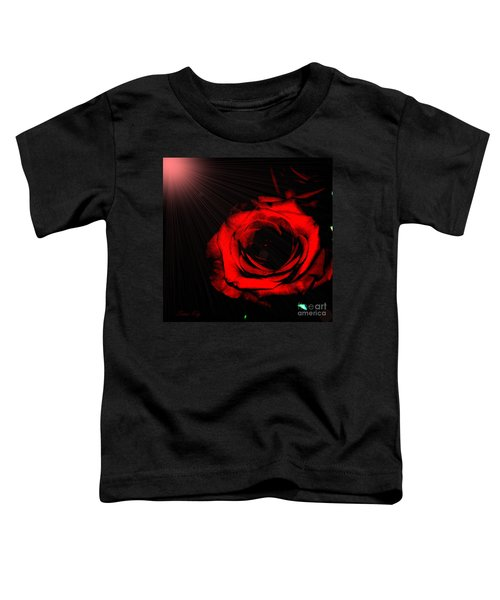 Passion. Red Rose Toddler T-Shirt
