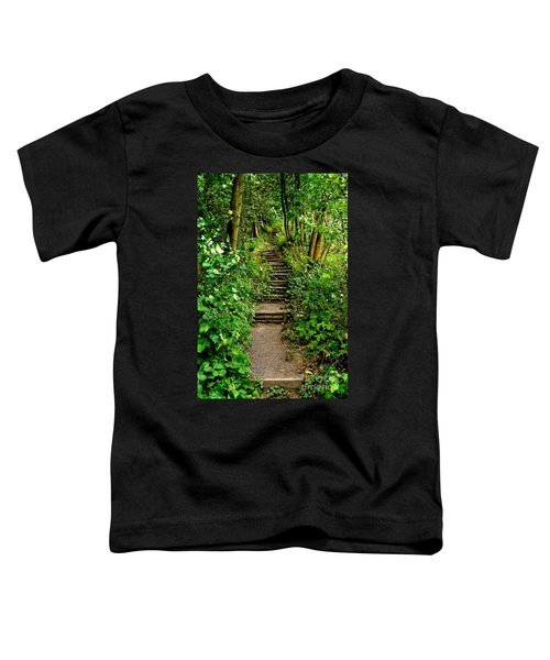 Path Into The Forest Toddler T-Shirt