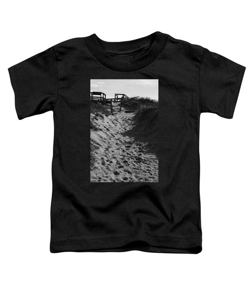 Pathway Through The Dunes Toddler T-Shirt