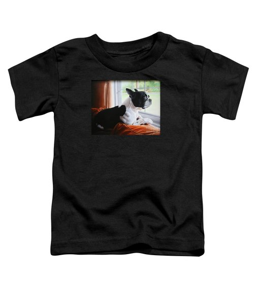 Patiently Waiting Toddler T-Shirt