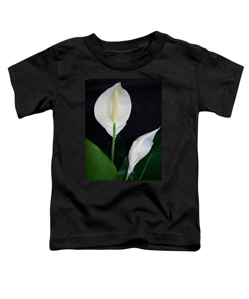 Peace Lilies Toddler T-Shirt