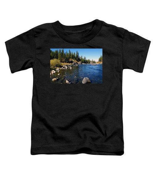Peace On The Spokane River 2 Toddler T-Shirt