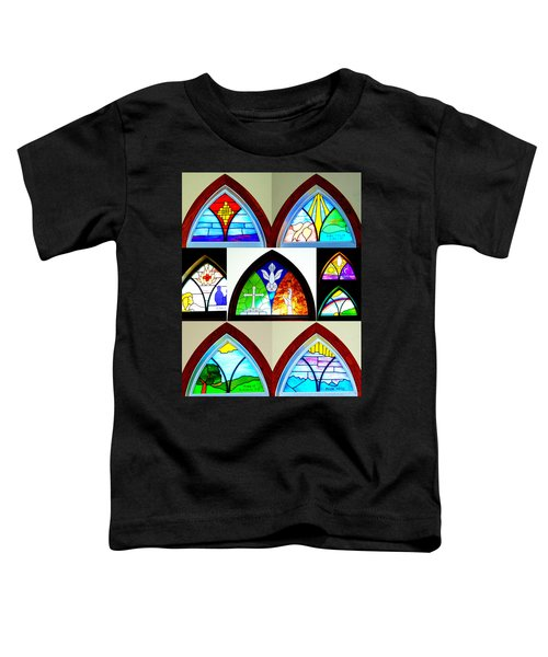Peace To All Who Enter Here Toddler T-Shirt